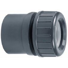 PVC-U connection with clamping nut VDL 40/50 x 32mm
