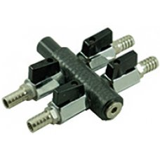10 way reinforced manifold inlet (1x18mm -> 10x9mm)