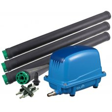Aeration Set: air pump Aquaforte AP-200 and 4 cylinder diffusers JAEGER TD 63/2075