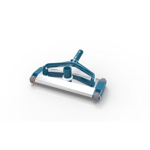 Aliuminis baseino dugno valymo šepetys Astralpool Blue Line