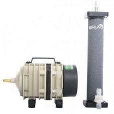 Aeration Set: Airpump Hailea ACO-318 and cylinder diffuser Hi-Oxygen 220x40mm