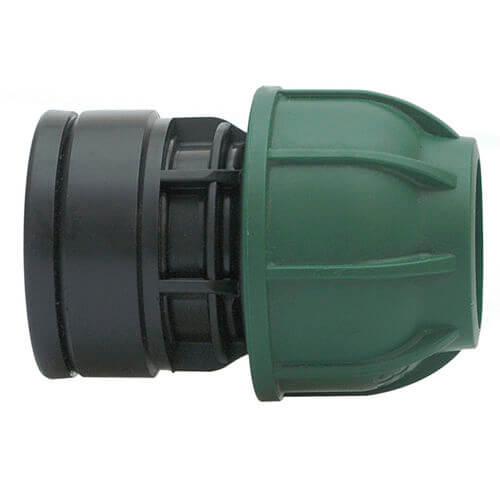 """Kompresinis PP adapteris PE vamzdžiui IRRITEC veržiklis / vidinis sriegis 20mm x ½"""""""