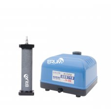 Aeration Set: Airpump Hailea V-20 and cylinder diffuser  Hi-Oxygen 170x40mm