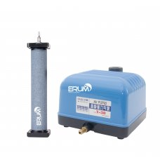 Aeration Set: Airpump Hailea V-30 and cylinder diffuser Hi-Oxygen 220x40mm