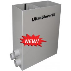 Gravity fed sieve filter UltraSieve III 300 micron with 3 inlets