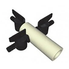 3 way plastic manifold for 9mm hose (1x18mm -> 3x9mm)