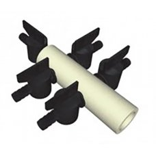 5 way plastic manifold for 9mm hose (1x18mm -> 5x9mm)