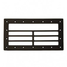 PE gatekeeper grid for wall skimmer with wide mouth 360 x 195 x 8mm