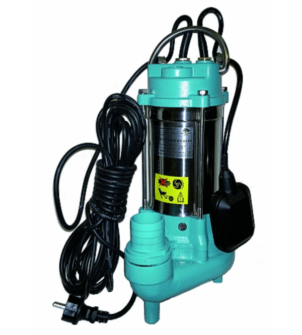 Submersible pump with cutting system WQ 7-8-0.75 (230V)