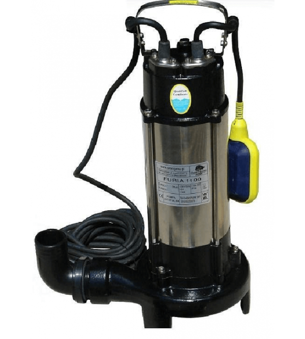 Submersible pump with cutting system WQ 1100 Furia (230V)