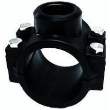"""Clamp saddle 32 mm x ½"""" with internal thread"""