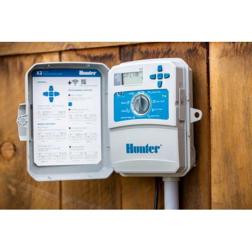 Hunter X2-801 4 stations, 230V, outdoor, plastic housing